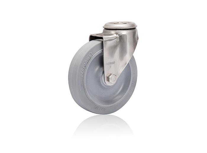 Stainless Steel Modular Stem Caster - Caster