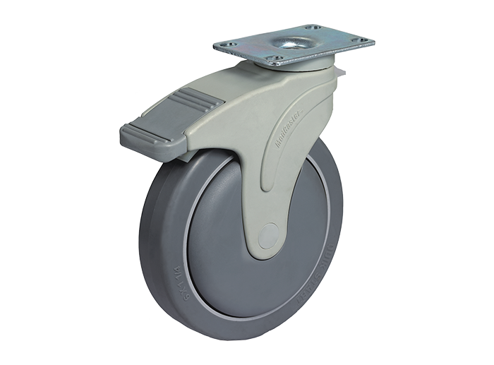 STO Series Nylon Rigs Caster Top Plate Caster