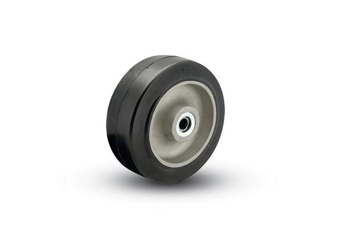 ALBION  MD/MR/MG Mold-On Rubber on Iron Core Wheels